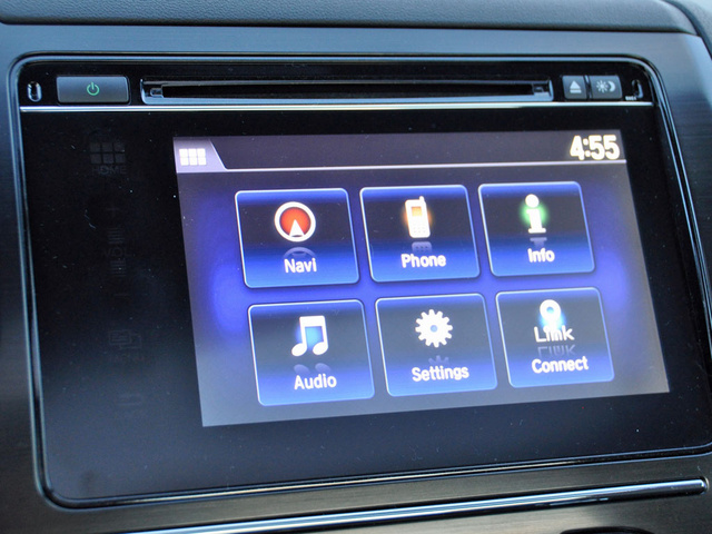 2014 Honda Civic EX-L HondaLink menu, interior