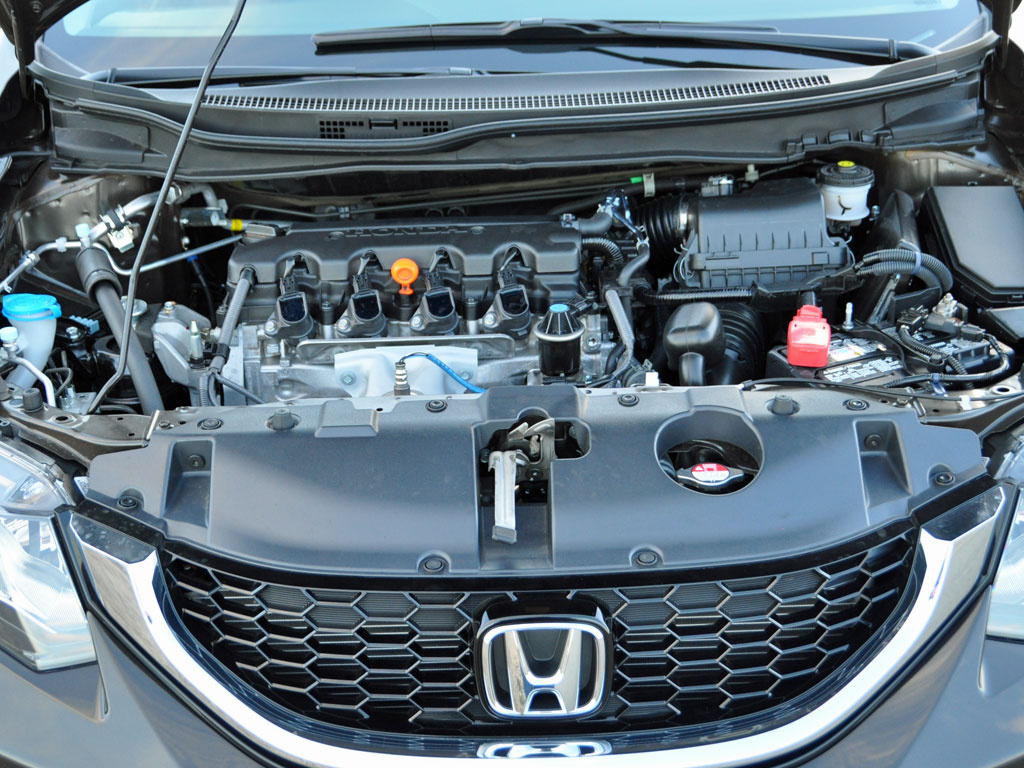 2014 Honda Civic 1.8-liter 4-cylinder engine, performance, engine