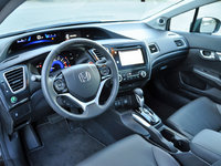 2014 Honda Civic EX-L Sedan dashboard, form_and_function, interior