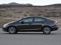 2014 Honda Civic EX-L with Navigation, 2014 Honda Civic EX-L Sedan, exterior, gallery_worthy