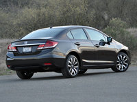 2014 Honda Civic EX-L w/ Navigation, 2014 Honda Civic EX-L Sedan, exterior