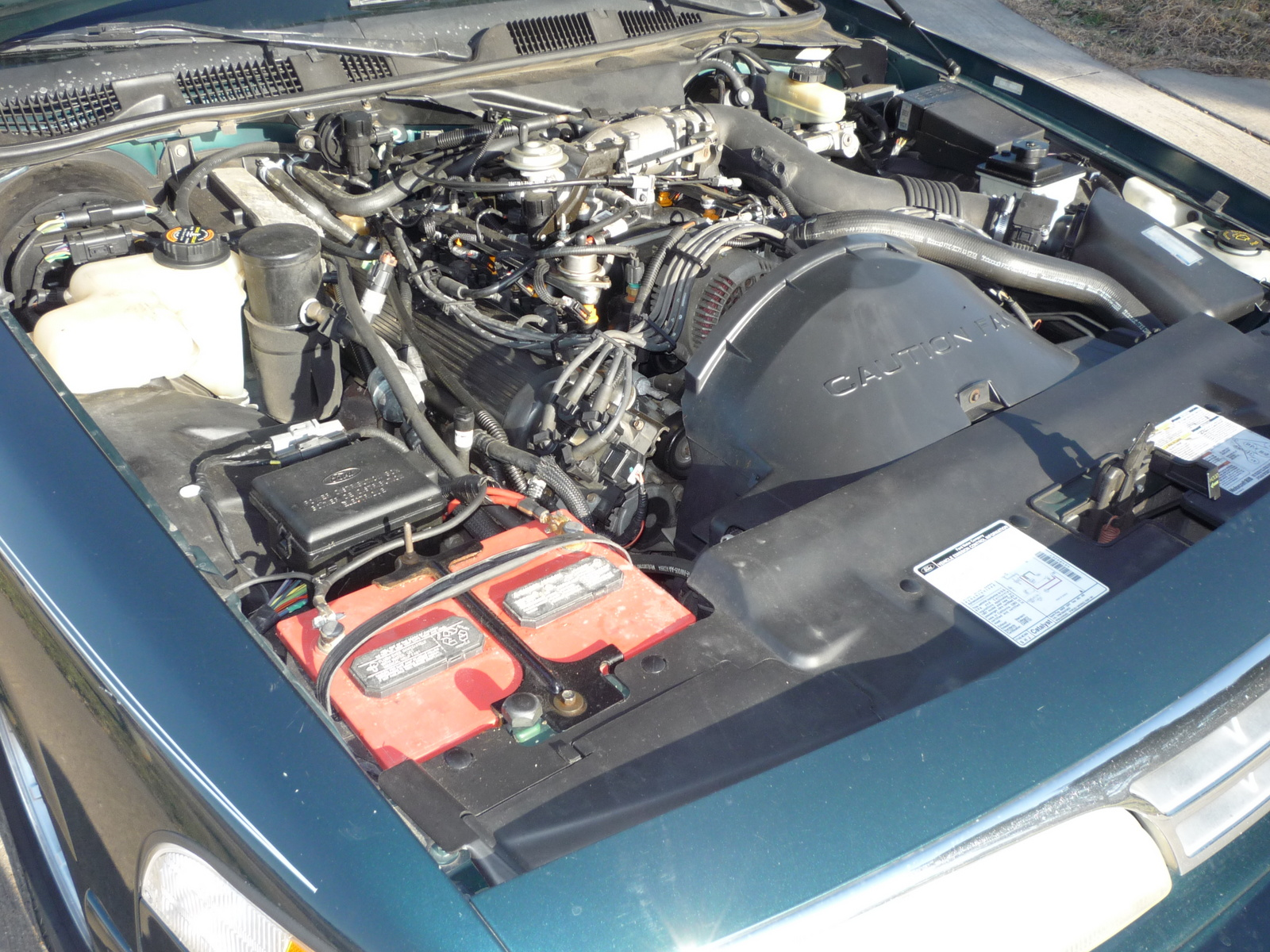 Picture of 1997 Ford Crown Victoria 4 Dr LX Sedan, engine