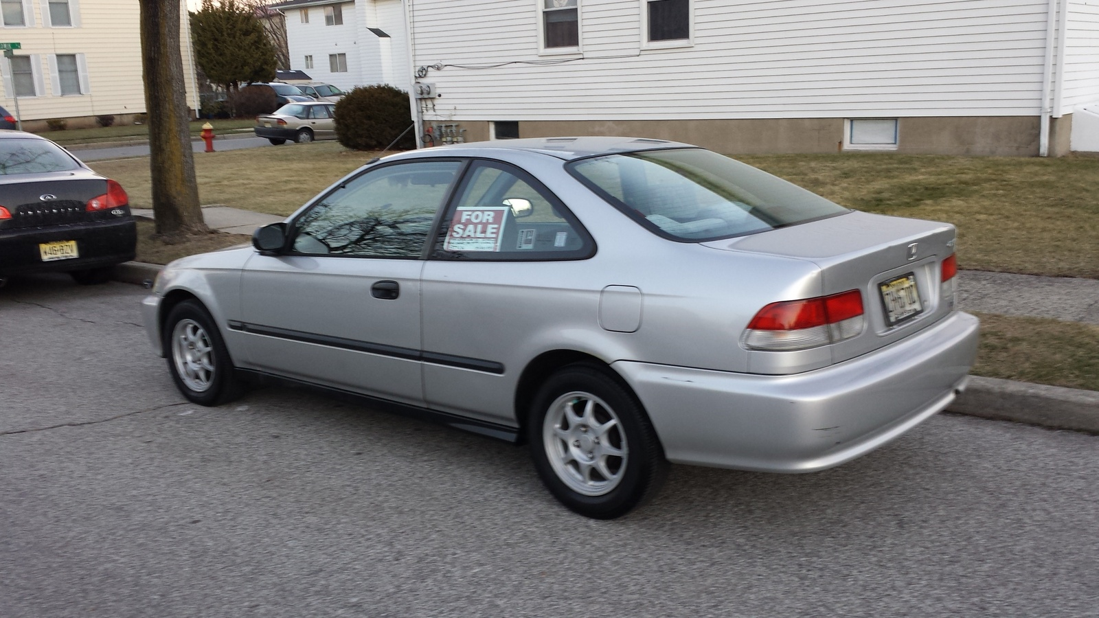 Picture of 1999 honda civic hx coupe exterior