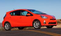 2014 Toyota Prius c, Front-quarter view, exterior, manufacturer