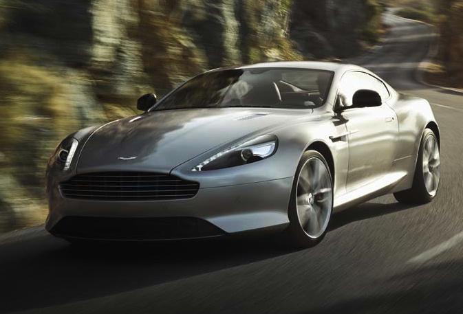 2014 Aston Martin DB9, Front-quarter view, exterior, manufacturer