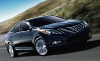 2014 Hyundai Azera, Front-quarter view, exterior, manufacturer