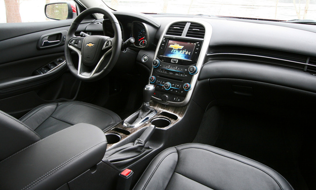 Marvelous Tech Level. 8/ 10. 2014 Chevrolet Malibu