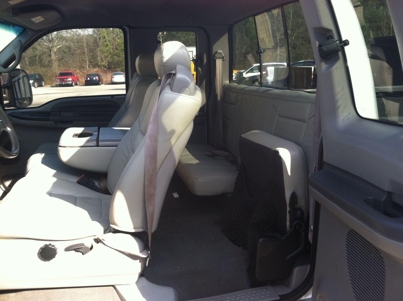 Picture of 2001 Ford F-250 Super Duty XL 4WD Extended Cab LB, interior