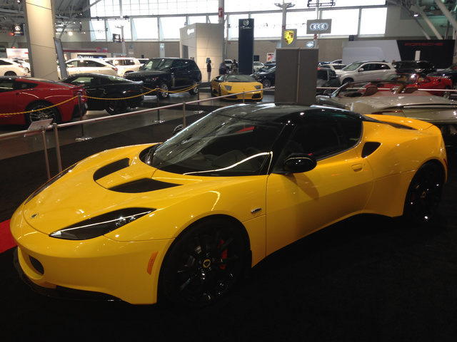 2014 Lotus Evora, Front-quarter view, exterior, gallery_worthy