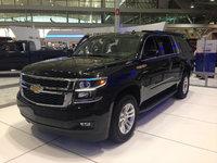 2015 Chevrolet Suburban, Front-quarter view, exterior