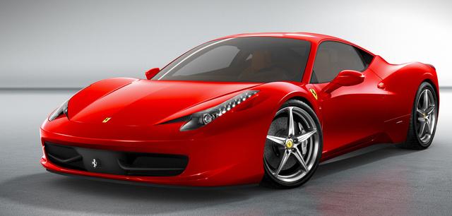 2014 Ferrari 458 Italia, Front-quarter view, exterior, manufacturer, gallery_worthy