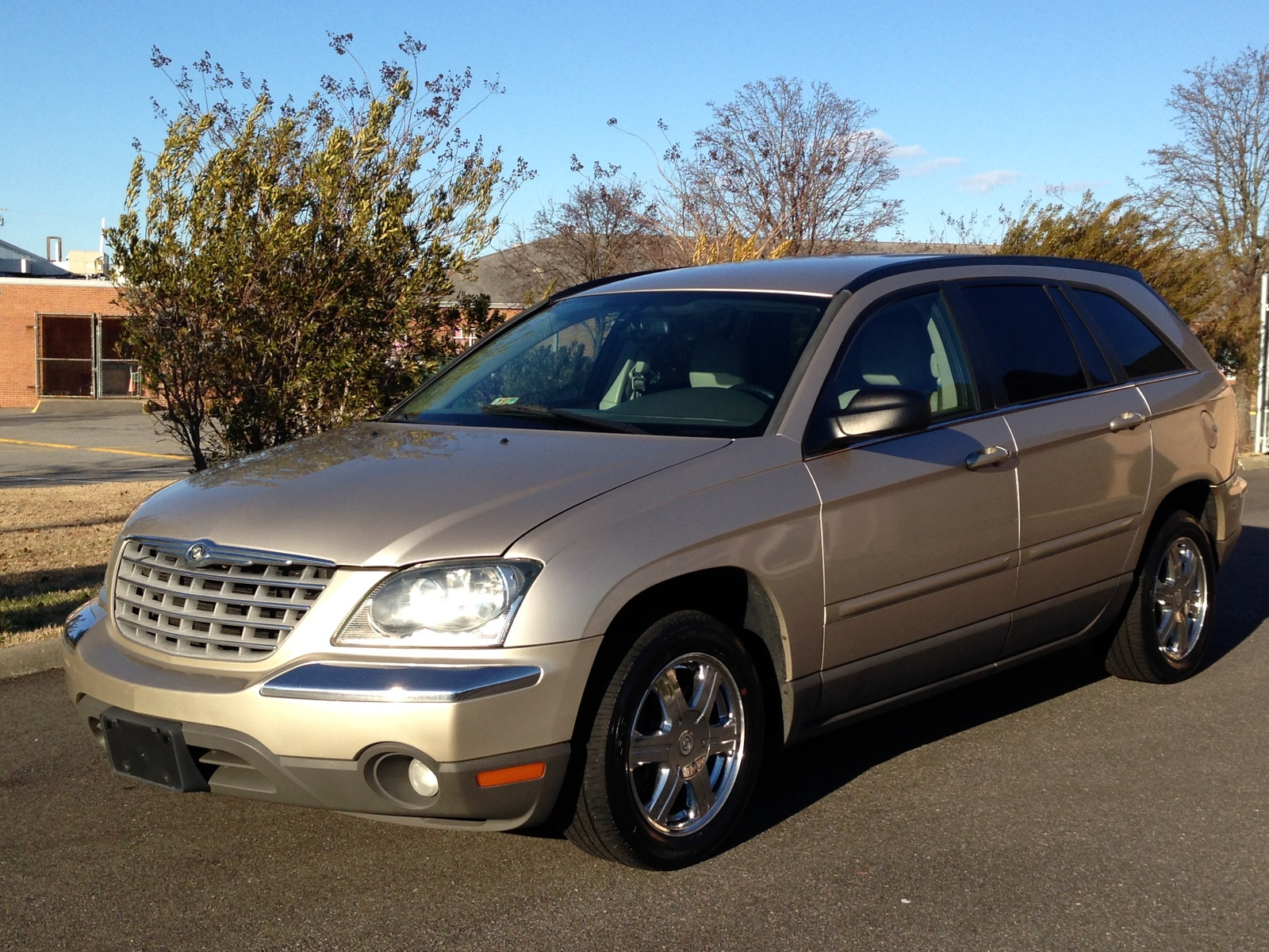 2004 chrysler pacifica base awd picture exterior. Cars Review. Best American Auto & Cars Review