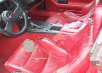 Picture of 1987 Chevrolet Corvette Coupe, interior