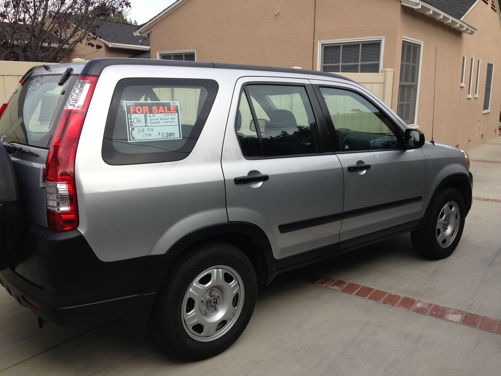 Picture of 2006 honda cr v lx exterior