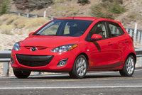 2014 Mazda MAZDA2, Front-quarter view, exterior, manufacturer