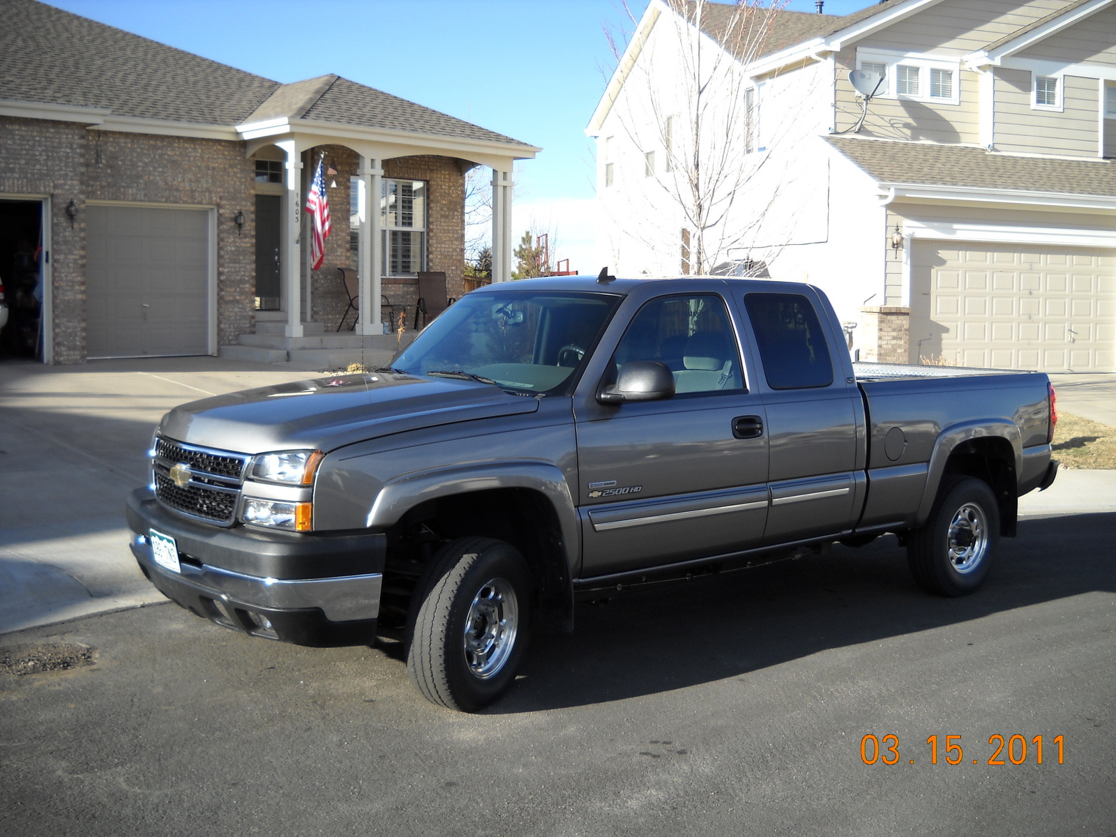 picture of 2007 chevrolet silverado classic 2500hd lt2 extended cab. Cars Review. Best American Auto & Cars Review