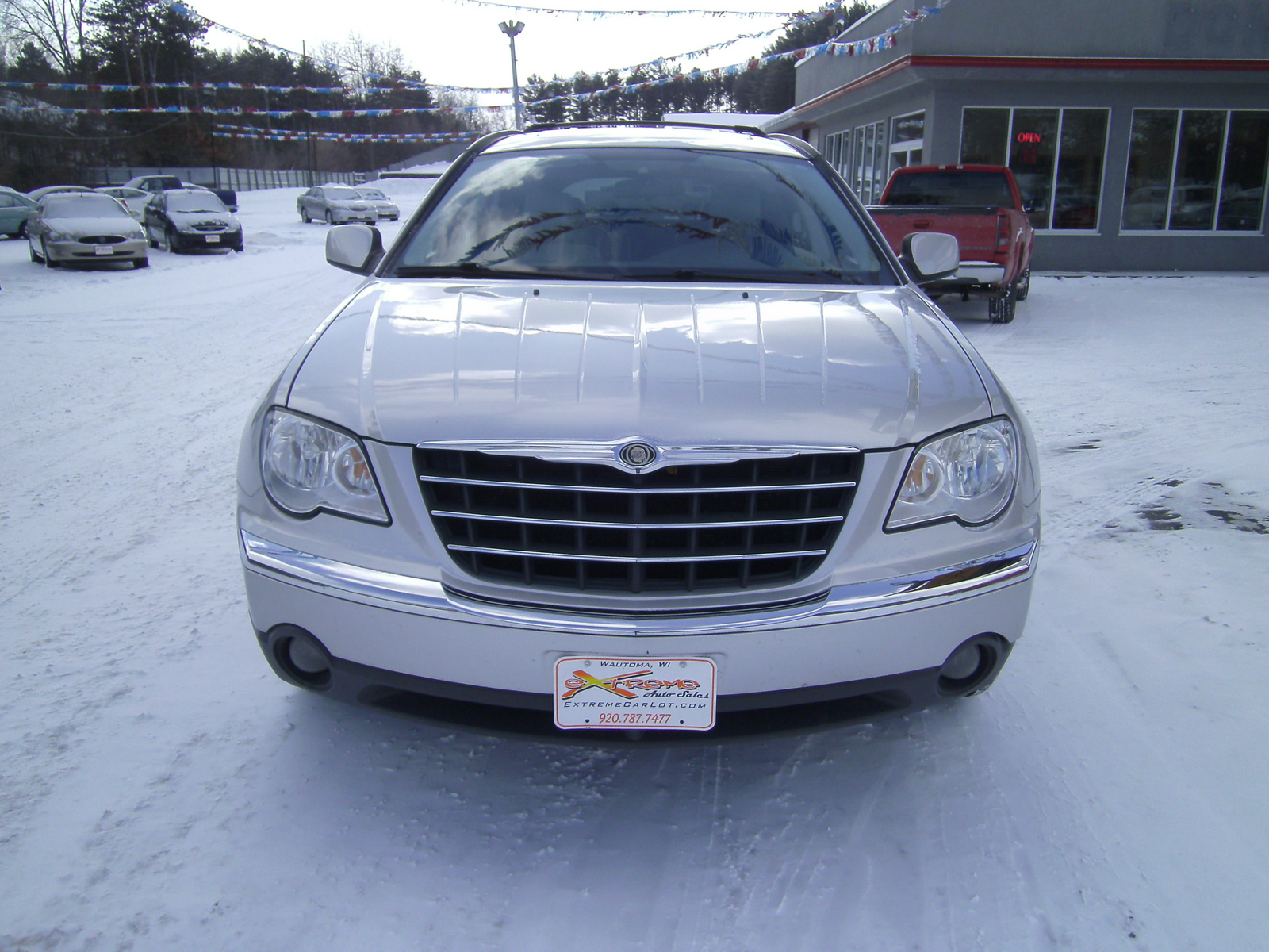 picture of 2007 chrysler pacifica 4 dr touring s package exterior. Cars Review. Best American Auto & Cars Review