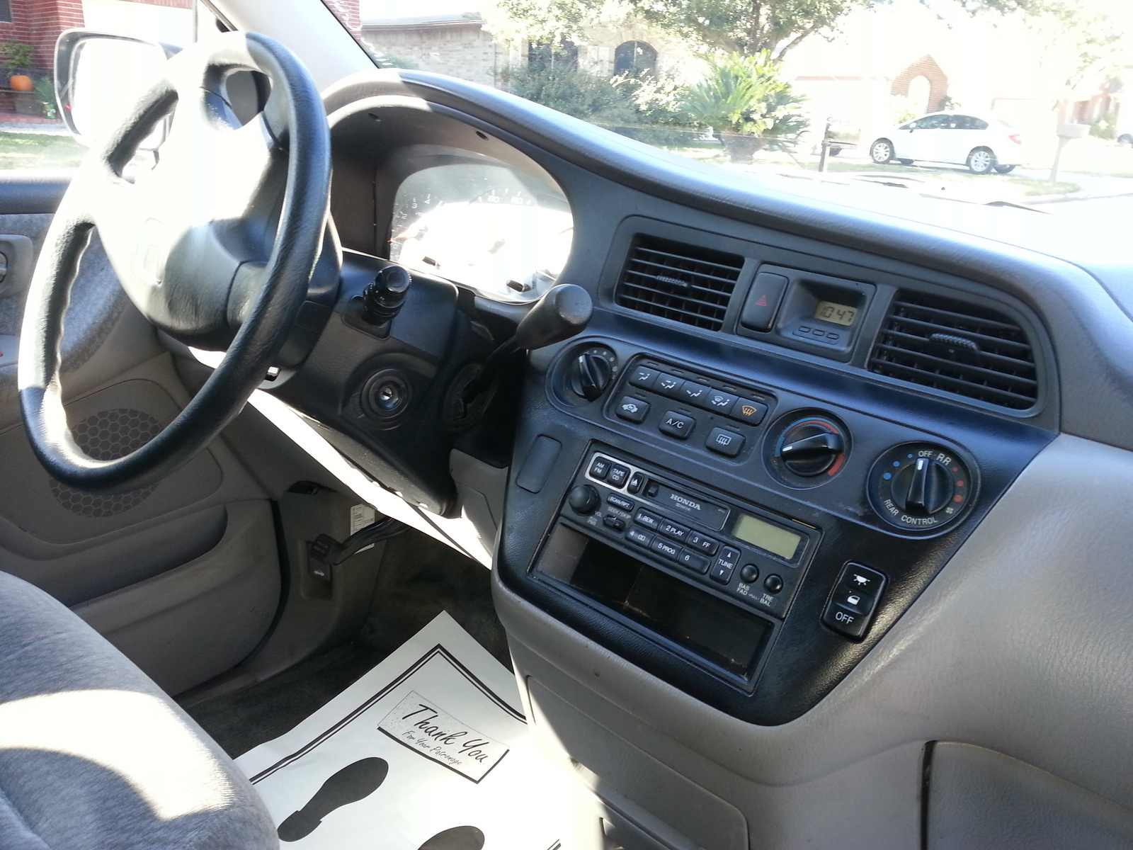 2000 Honda Odyssey Interior Pictures Cargurus