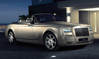 2014 Rolls-Royce Phantom Drophead Coupe, Front-Quarter View, exterior, manufacturer
