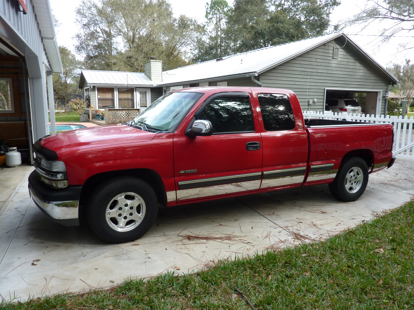 picture of 1999 chevrolet silverado 1500 3 dr ls extended cab sb. Cars Review. Best American Auto & Cars Review