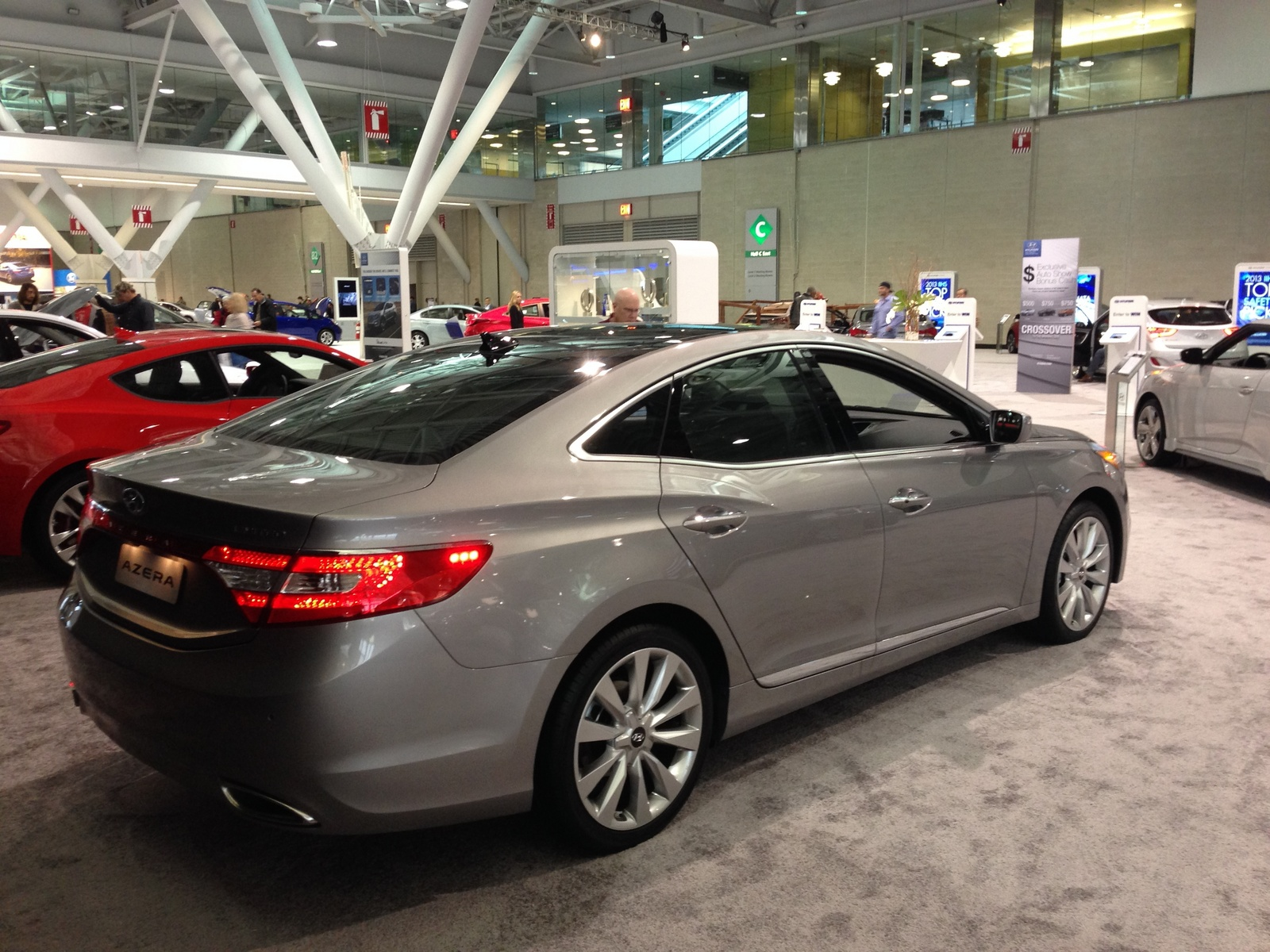 Photo from the 2014 New England International Auto Show