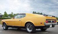 Picture of 1971 Ford Mustang Mach 1 Fastback RWD, exterior, gallery_worthy
