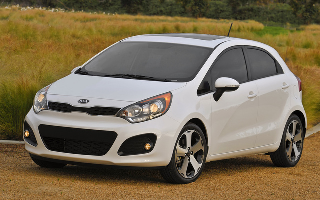 2014 Kia Rio5, Front-quarter view, exterior, manufacturer, gallery_worthy