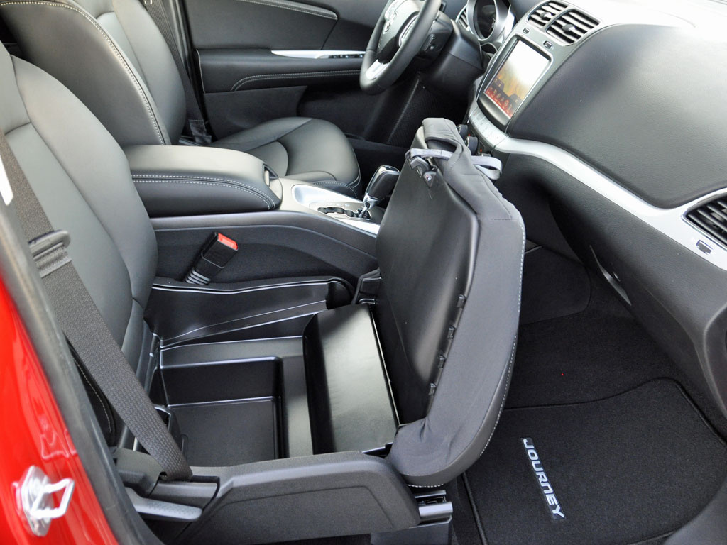 journey interior The journey has a lot of clever interior features for the money, but the fuel  economy, ride, and handling could all use improvement.