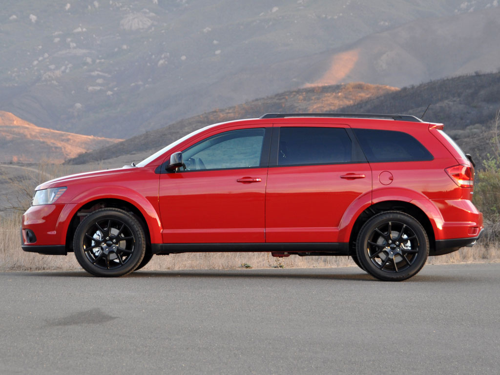2014 Dodge Journey SXT with Blacktop Package