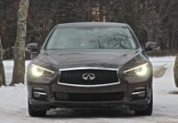 Front view of the 2014 Infiniti Q50, exterior