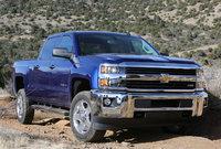 2015 Chevrolet Silverado 2500HD, Front-quarter view. Copyright General Motors, exterior, manufacturer