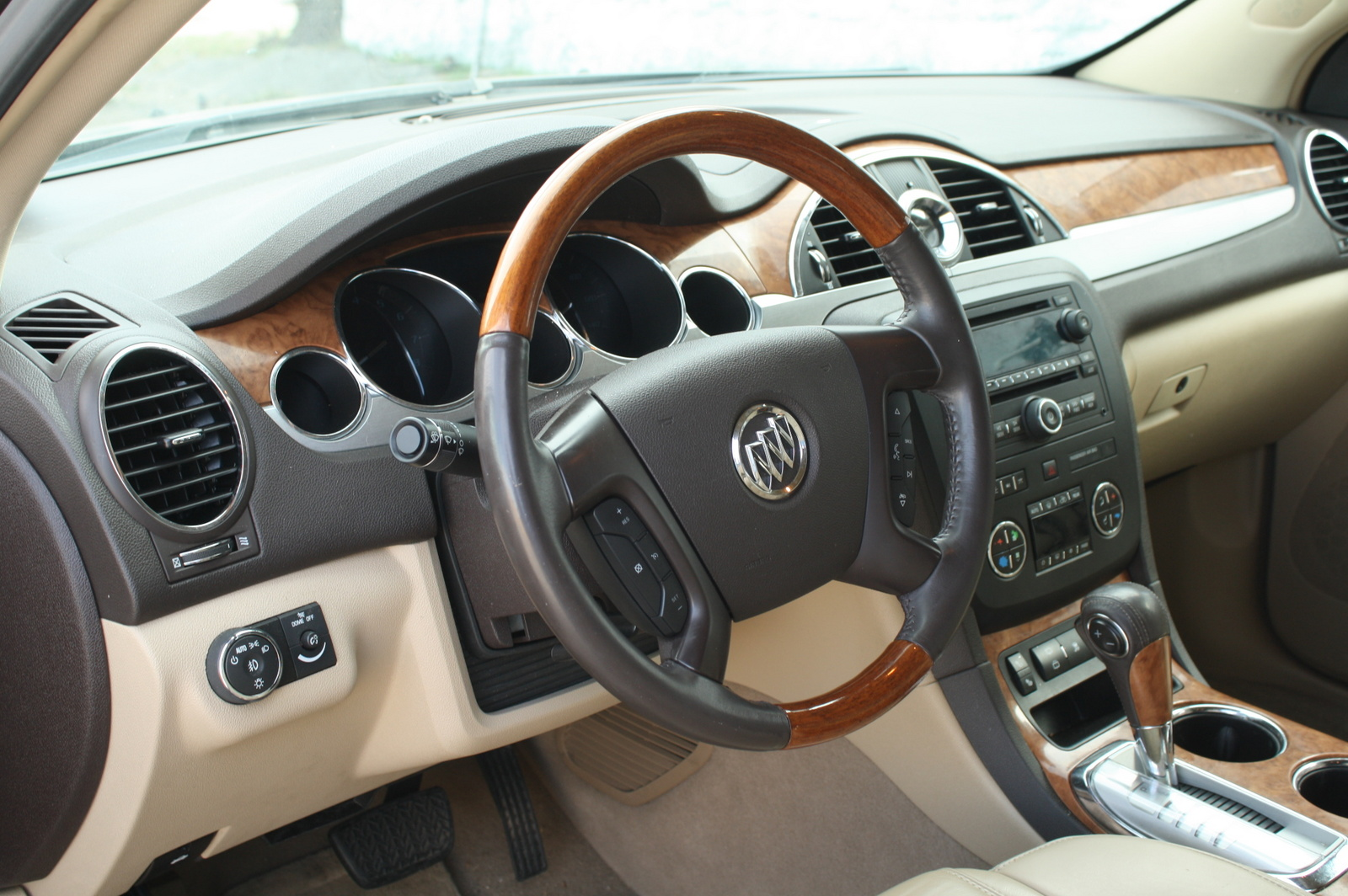 2013 Buick Enclave Interior Photo Black Models Picture