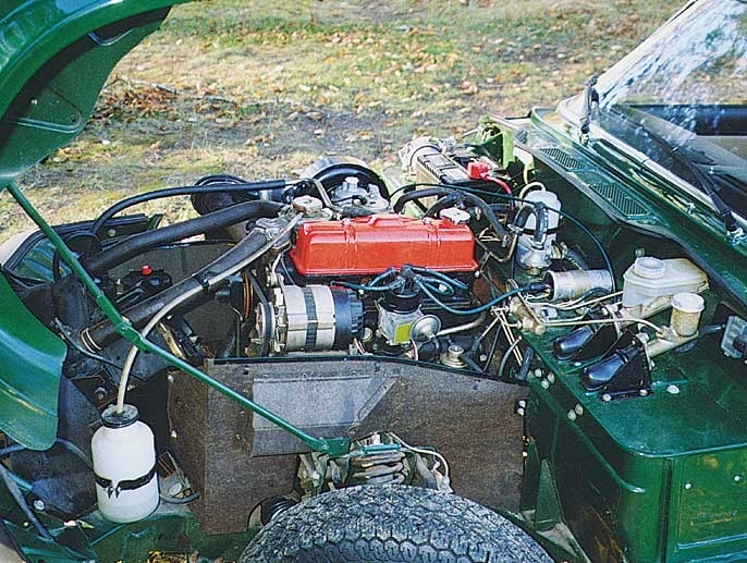 Triumph Spitfire Questions How Do You Keep The Hood Open Cargurus