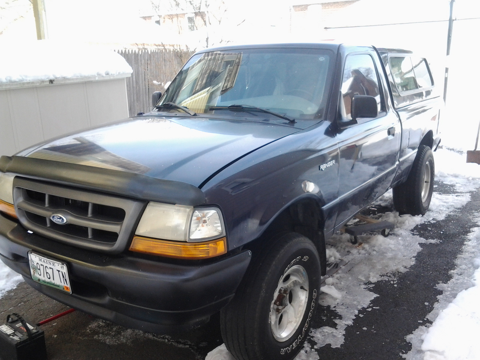 Ford Ranger Questions Old Starter Had Two Wires New One Needs 3 Motor Wiring Harness Mark Helpful