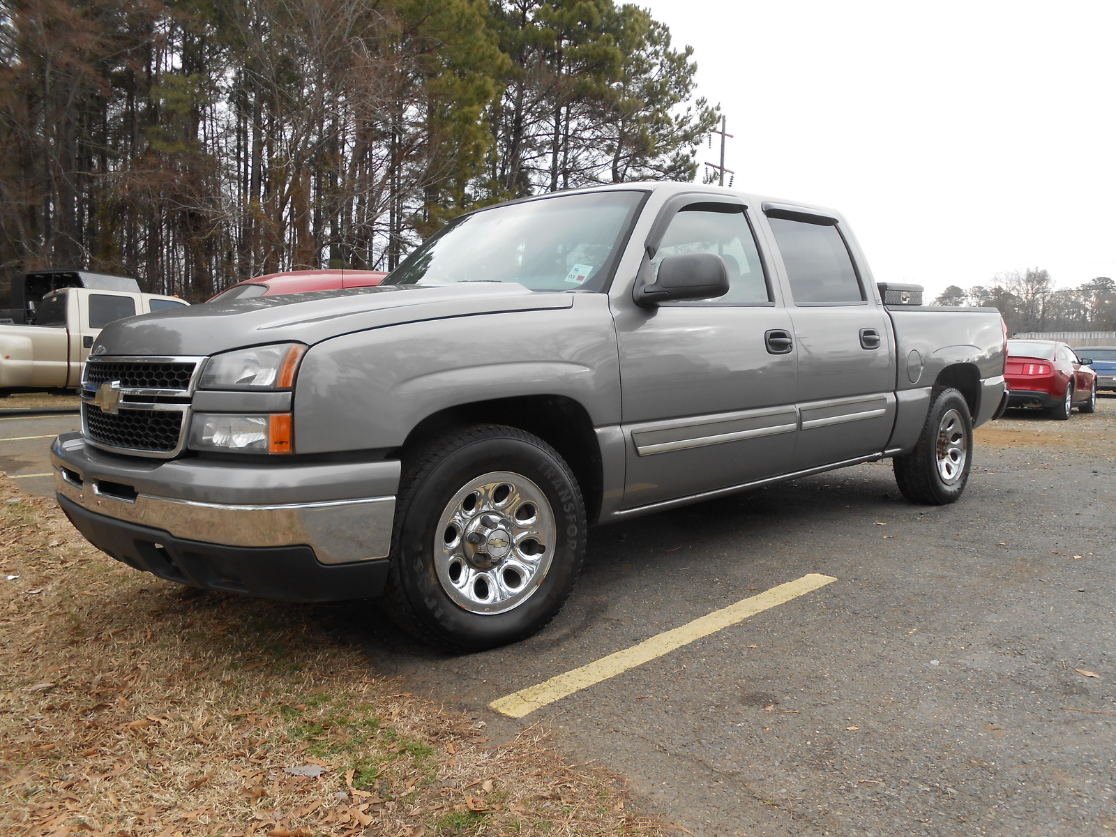 picture of 2007 chevrolet silverado 1500 ls crew cab sb exterior. Cars Review. Best American Auto & Cars Review