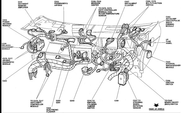 Mercury Grand Marquis Questions Alarm Won't Let My Car Start I Rhcargurus: 94 Mercury Grand Marquis Engine Diagram At Taesk.com