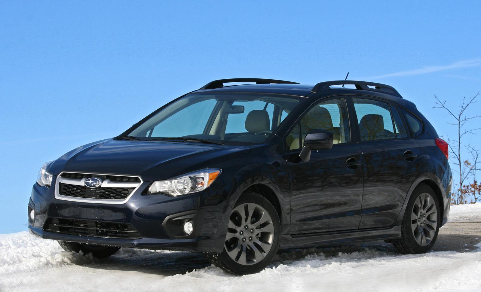 2014 Subaru Impreza front