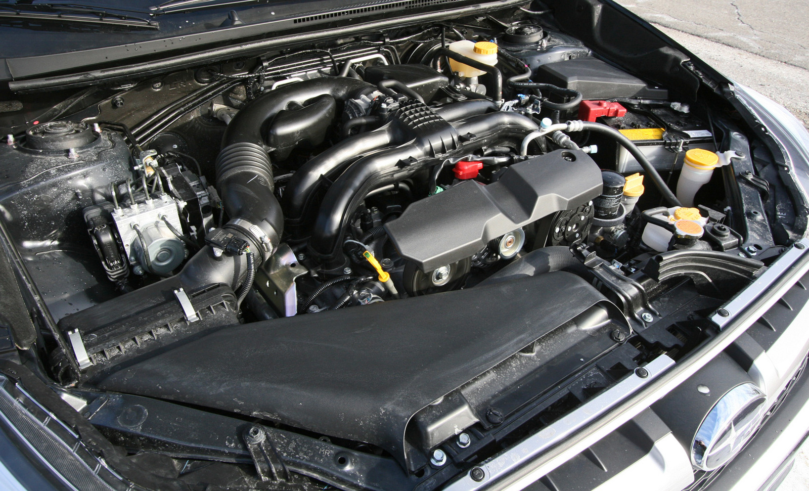 2014 Subaru Impreza engine