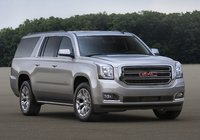 2015 GMC Yukon XL, Front-quarter view. Copyright General Motors, manufacturer, exterior