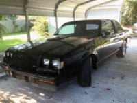 1987 Buick Grand National Overview