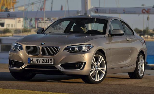 2014 BMW 2 Series, Front-quarter view, exterior, manufacturer