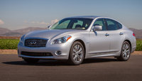 2014 INFINITI Q70, Front-quarter view, exterior, manufacturer, gallery_worthy
