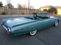 1962 Ford Thunderbird Picture Gallery