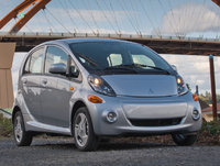 2014 Mitsubishi i-MiEV, Front-quarter view, exterior, manufacturer