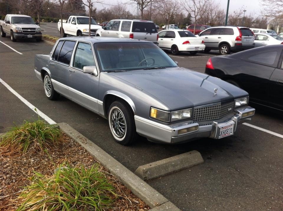 Cadillac DeVille Questions - Why is my 1990 Cadillac Sedan Deville