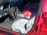 2005 Chevrolet Corvette Coupe, Red Bull Interior, interior