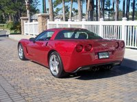 2005 Chevrolet Corvette Coupe, Red Bull, exterior