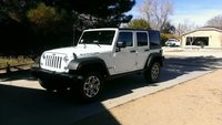2014 Jeep Wrangler Unlimited Rubicon, The day I bought it., exterior