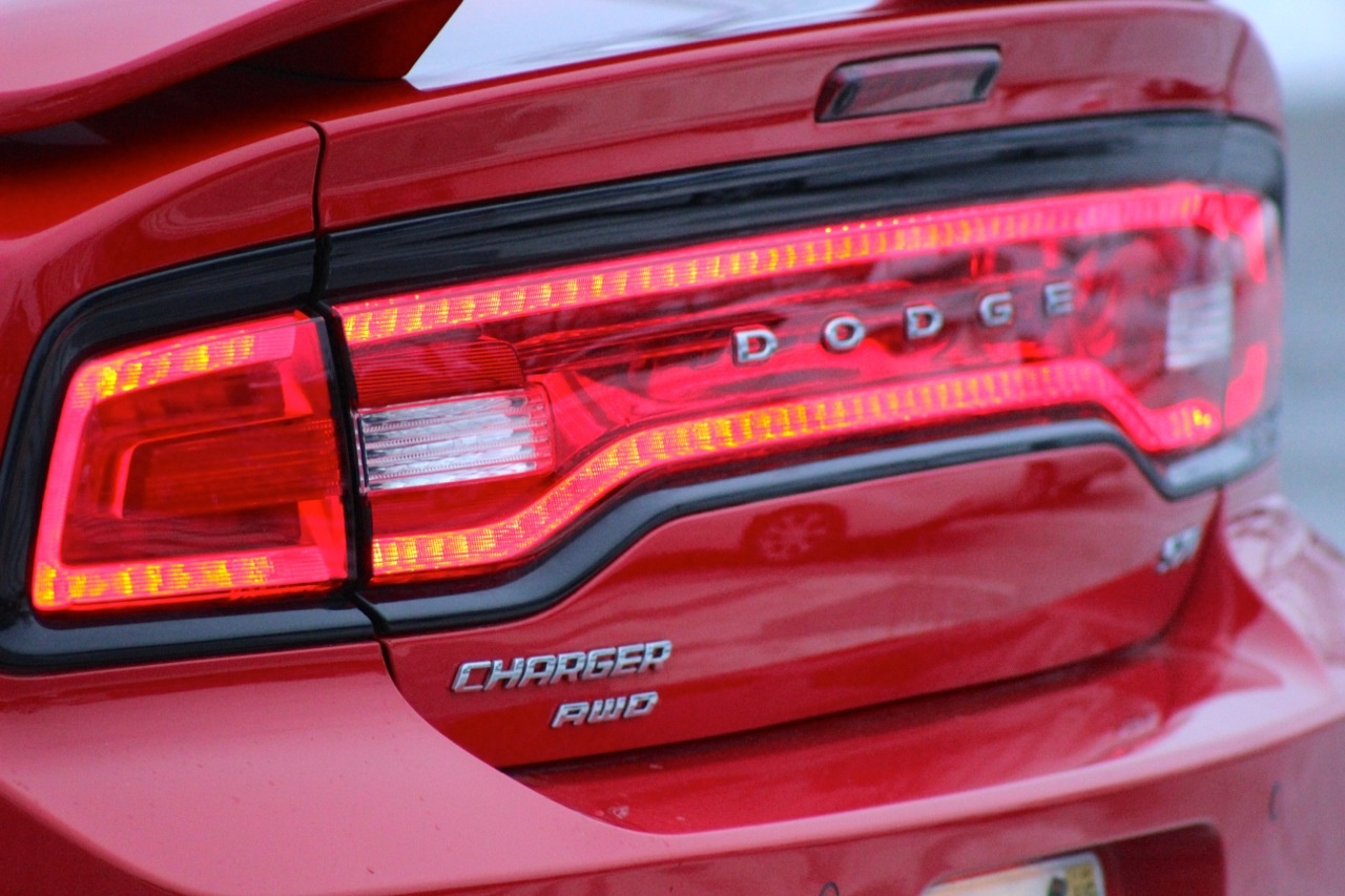 164 LED taillights of the 2014 Dodge Charger