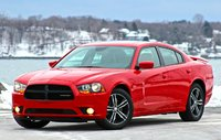 Front 3/4 of the 2014 Dodge Charger, exterior